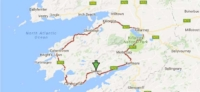 map of the ring of kerry