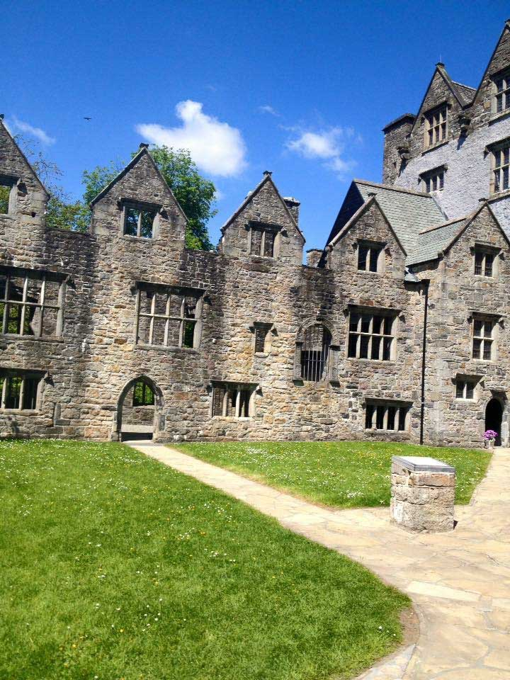 courtyard in Donegal Castle