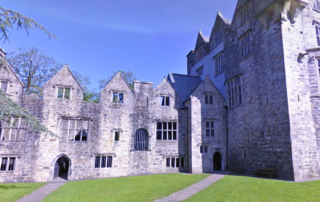 donegal castle located in the heart of the town