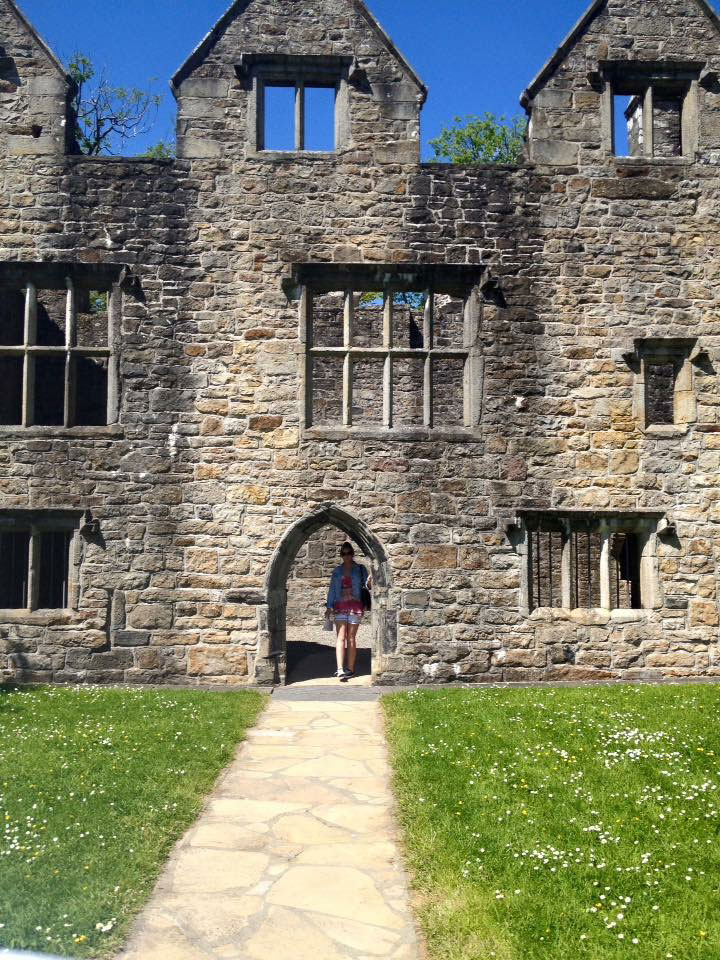 doorway at donegal Castle