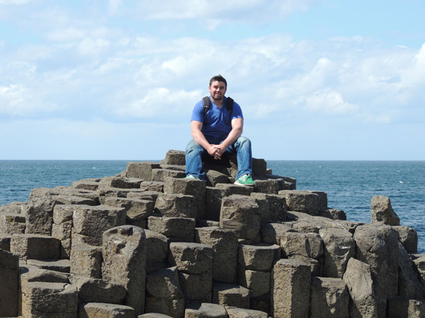 my little pose on the giants causeway
