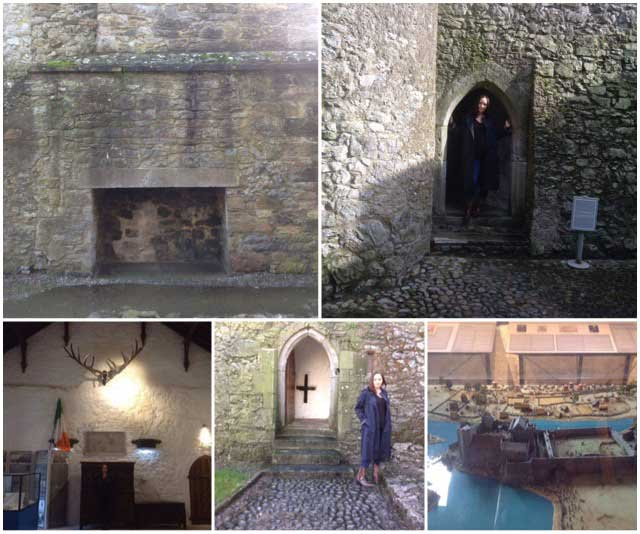 inside cahir castle