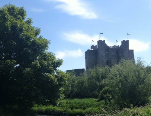 Trim Castle in the Boyne Valley, Meath