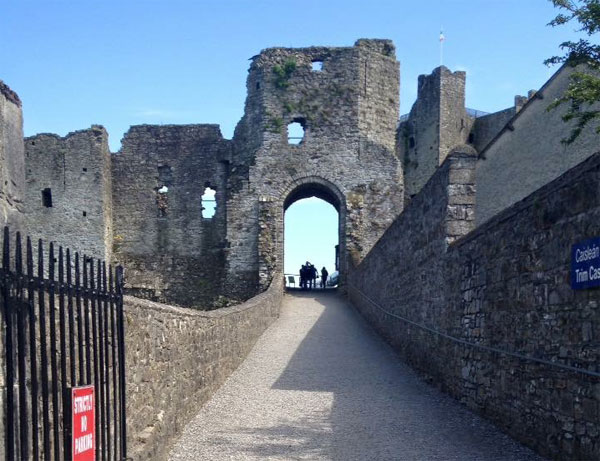 trim castle entrance gate