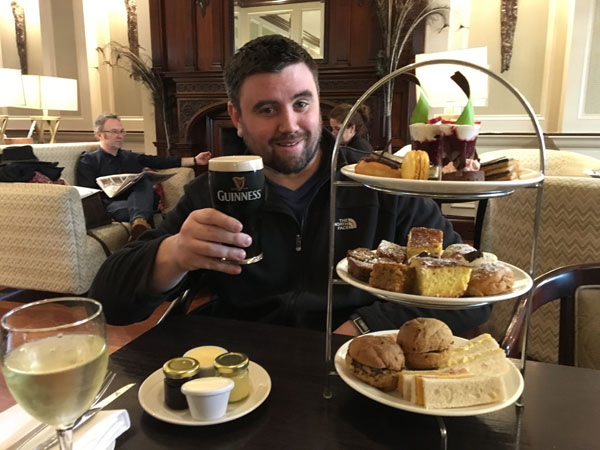afternoon tea at muckross