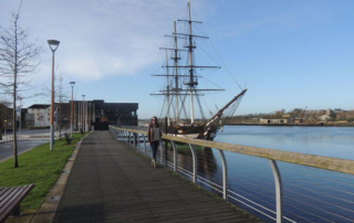 dunbrody famine ship in Ireland
