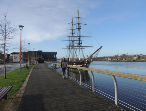 The Dunbrody Famine Ship Experience – Standing as a silent witness to the mass exodus of Ireland.