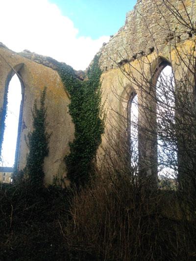 inside view of templars church