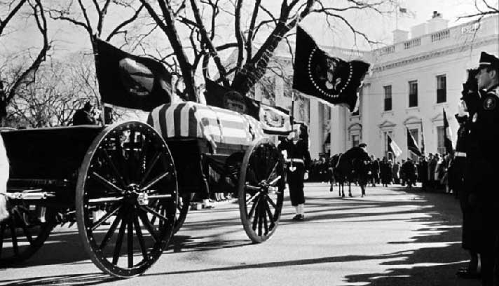 horse less carriage jfk funeral