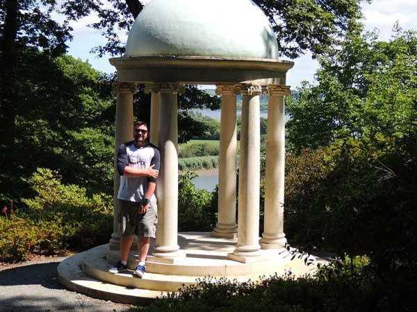 The temple in Mount Congreve