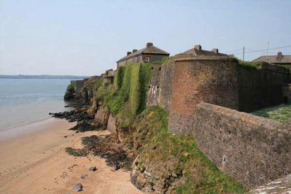 duncannon beach fort