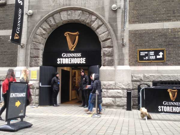 Guinness Storehouse Building